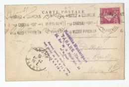 69 - Tarare Cachet Recette Municipale 56 Rue De La République, 1935, Carte De Lourdes - Tarare