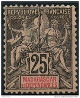 Madagascar (1896) N 35 * (charniere) - Non Classés