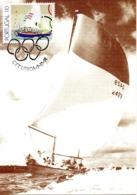 PORTUGAL. N°1861 De 1991 Sur Carte Maximum. Voile. - Segeln