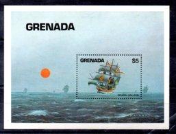 Granada Hoja Bloque Nº Yvert 120 ** BARCOS (SHIPS) Valor Catálogo 12.0€ - Grenada (1974-...)