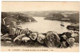 LANNION - Promenade Du Léguer Vers La Sardinerie - Lannion