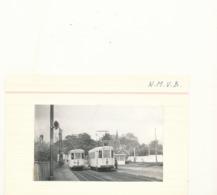 Tram Tramway Vicinal   Buurtspoorweg Foto 10 X 6 Cm  Destelbergen Station  1956 - Destelbergen