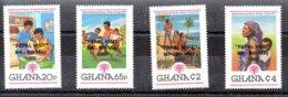 Ghana Serie Completa Nº Yvert 669/72 ** ANIMALES (ANIMALS) Valor Catálogo 10.0€ - Ghana (1957-...)