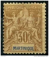 Martinique (1892) N 39 * (charniere) - Martinique (1886-1947)