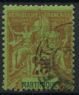 Martinique (1892) N 37 (o) - Martinique (1886-1947)