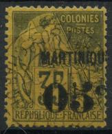 Martinique (1888) N 13 (o) - Martinique (1886-1947)