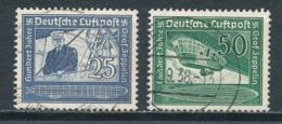 Deutsches Reich 669/70 Gestempelt Mi. 4,- - Gebraucht
