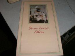 MENU' ROOM SERVICE MENU - Menu