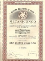 """Ateliers Mécaniques Du Congo - """"MECANICONGO"""" - Afrika"""