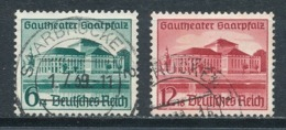 Deutsches Reich 673/74 Gestempelt Mi. 6,- - Gebraucht