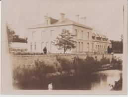 """SAINT SERVAN - SAINT MALO - Château """" Les GUIMERAIS """" - Photo Originale Non Glacée ( 12 X 9 ) Dans Les Années 1900. - Luoghi"""