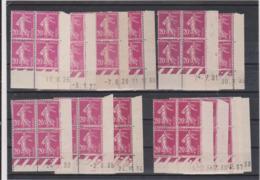 N°190   13 Coins Datés Xx - 1906-38 Semeuse Camée