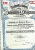 Manufacture De Biscuits Drapeau - Merksem - Actions & Titres