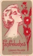 910Mm  Parfum Carte Fanfreluches Lorenzy Palanca - Cartes Parfumées