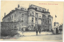 CPA GAILLON - Entrée De La Caserne - Ed. A. Lavergne , Vernon - France