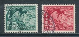 Deutsches Reich 684/85 Gestempelt Mi. 18,- - Gebraucht