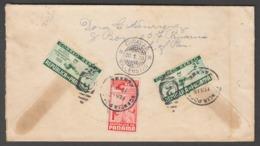 "Panama 1938  Michel 246, 247  Cover  'baseball, Basket, Sport"" - Panama"