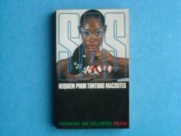 LIVRE - SAS- Numéro 24 - SAS- REQUIEM POUR TONTONS MACOUTES - - Gérard De VILLIERS - Gerard De Villiers