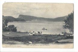 23637 - Vallée De Joux Lac De Joux Et Dent De Vaulion Circulée 1909  (attention Coin Cassé) - VD Waadt