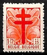 [651157]TB//**/Mnh-BELGIQUE 1948 - N° 789-cur, 1F75+25c, Dentelure Mal Venue , Curiosité - Abarten Und Kuriositäten