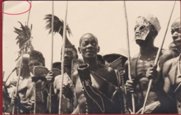 Belgisch Congo Belge 1955 Fotokaart Carte Photo Tribu Tribe Ethnic - Congo Belge - Autres