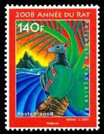 POLYNESIE 2008 - Yv. 828 **  - Année Lunaire Et Chinoise Du Rat  ..Réf.POL24832 - Französisch-Polynesien