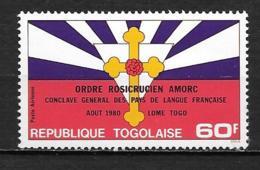 PA - 1980 - N° 461 **MNH - Ordre Rosicrucien Amorc - Togo (1960-...)