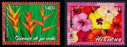 POLYNESIE 2007 - Yv. 821 Et 822 **  - Fleurs. Hibiscus Et Oiseau De Paradis  ..Réf.POL24829 - Französisch-Polynesien