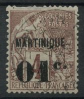 Martinique (1888) N 8 (o) - Martinique (1886-1947)