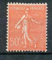 [69488]TB//*/Mh-N° 199, 50c Rouge, Type à Vérifier. - 1903-60 Sower - Ligned