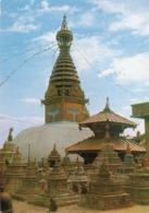 CT-03028- SWOYAMBHU THE BIGGEST STUPA IN THE WORLD   NEPAL - Nepal