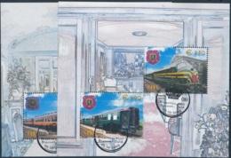 NN - [95161]TB//O/Used-c:24e-NN-TRV-Blocs 5/6, Trains Royaux, Faciale 9 Euros - Railway