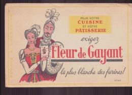 "Buvard ( 21 X 13.5 Cm ) "" Fleur De Gayant "" Farine - Alimentaire"
