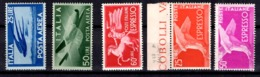 Italie Poste Aérienne YT N° 118 Et 120 + Expres N° 30, 30A Et 32 Neufs ** MNH. TB. A Saisir! - 1900-44 Vittorio Emanuele III