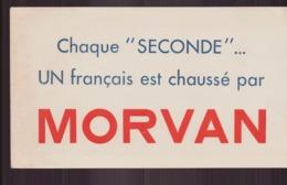 "Buvard ( 21 X 12 Cm ) "" Morvan "" Chausseur - Zapatos"