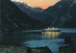 CT-03030- GEIRANGER BY NIGHT - Norvegia