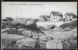 CPA 29 - Brignogan, Rochers - Plage Et Villas - Brignogan-Plage