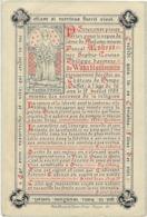 SOUVENIR BARONNE SOPHIE LOUISE DE WAHA BAILLONVILLE, 1909, CHATEAU DE HIMPE, OUFFET, NOBLESSE, Lith.  Petyt Bruges . - Images Religieuses