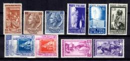 Italie Belle Petite Collection De Bonnes Valeurs Neufs ** MNH 1950/1956. TB. A Saisir! - 6. 1946-.. Republic