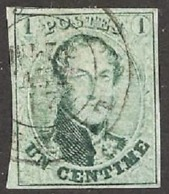 N° 9 Met Vier Mooie Randen+gebuur - 1858-1862 Medaillen (9/12)