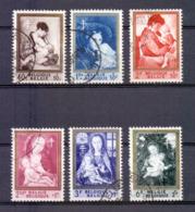 1198/1203 Schilderijen Gestempeld 1961 - Belgium