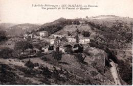 07 LES OLLIERES  ST SAINT VINCENT DE DURFORT ARDECHE - Frankreich