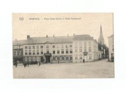 WERVICQ. - Place Saint-Martin Et Hôtel Communal (1916). - Wervik
