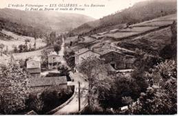 07 LES OLLIERES   PRIVAS BOYON ARDECHE - France