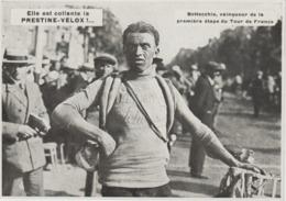 DOCUMENT  PHOTOS PRESSE    17 , Cm  X  13  Cm  TOUR De France.  BOTTECHIA VAINQUEUR 1ère étape - Cycling