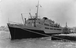 Tanger  Le Ferry Boat  De La Transmediterranea Virgen De Africa    1016 - Dampfer