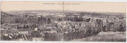 PONT-SAINTE-MAXENCE - Vue De Calipet Vers Beaurepaire - Inondations 1910 - Carte Double Panoramique Panorama - Pont Sainte Maxence