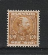 1904 CHRISTIAN IX 100 ORE MNH** - Nuovi