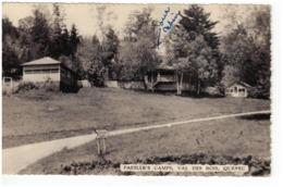 Paesler's Camps, VAL DES BOIS, Quebec, Canadian Post Card Co. (6252) - Quebec