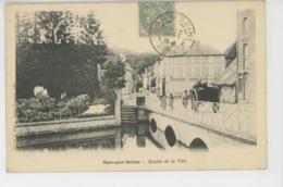 BAR SUR SEINE - Entrée De La Ville - Bar-sur-Seine
